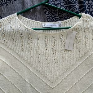 Beautiful Sweater with neck detail
